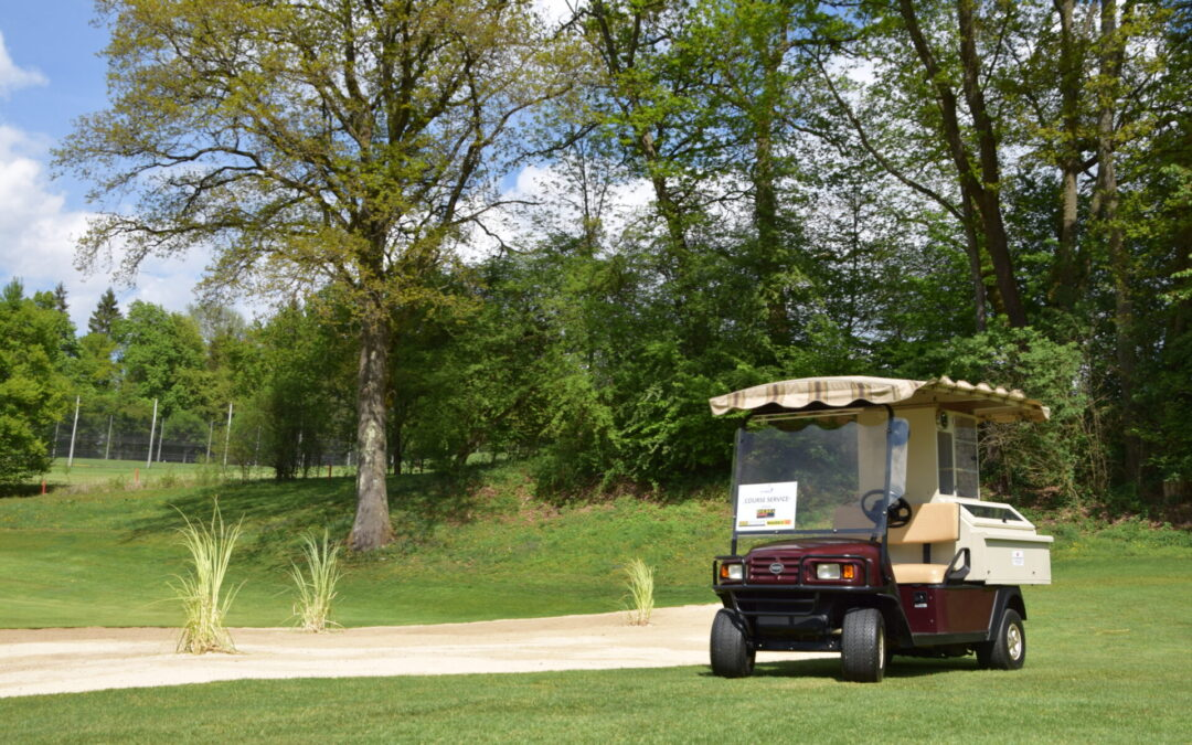 Golfanlage bleibt weiterhin geöffnet