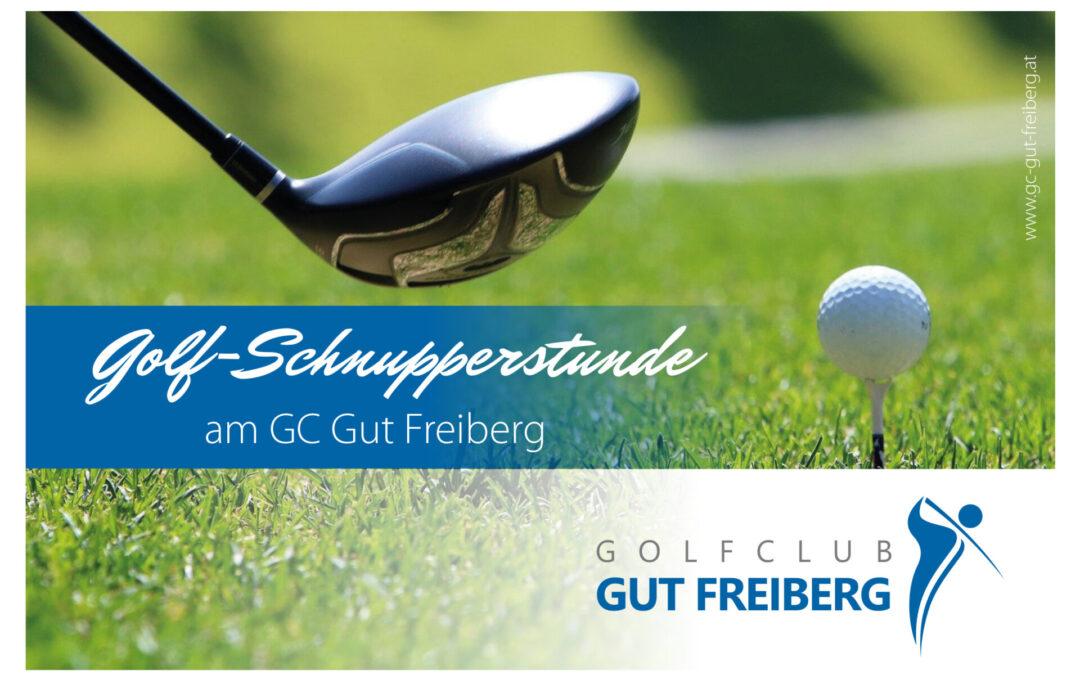 Gratis Golfschnuppern ab 15.03.2021