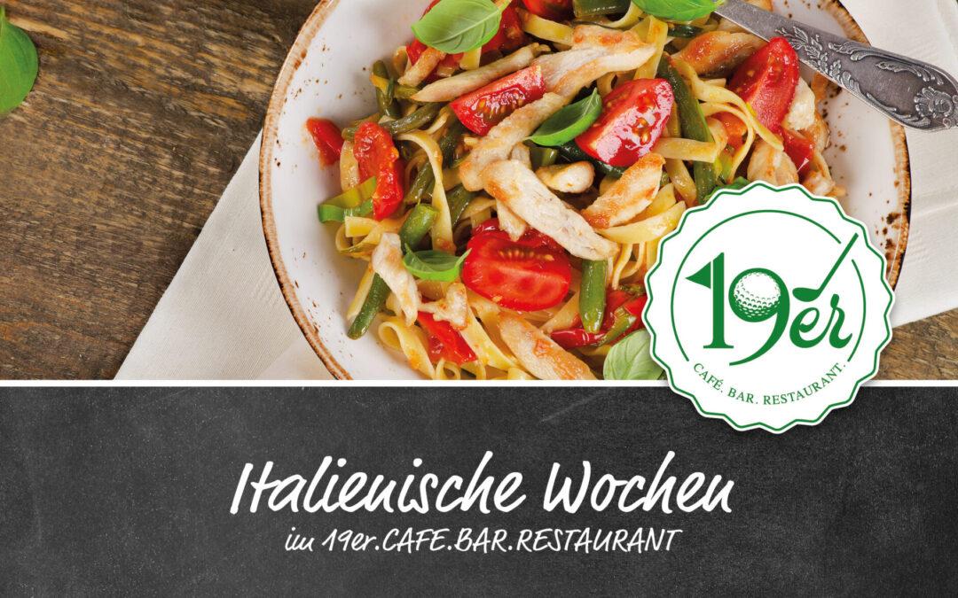 Italienische Woche im Restaurant19er – verlängert bis 13.06.2021