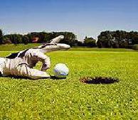 Golfgrüns zu LANGSAM?